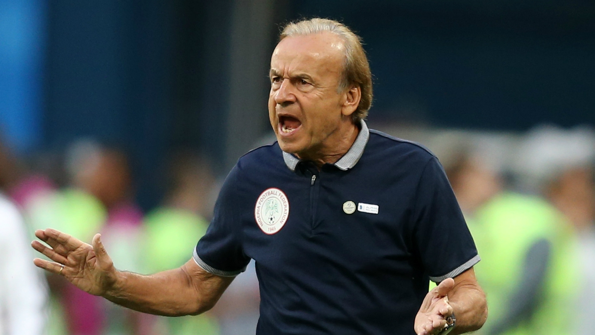 Gernot Rohr Releases Tentative Starting XI For Nigeria Against Guinea
