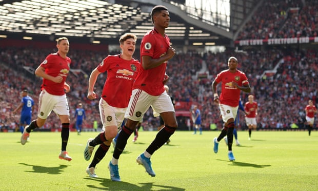 Rashford Spurs Manchester United To Victory Against Leicester