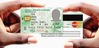 Nigerians To Start Paying N5000 For National ID Card