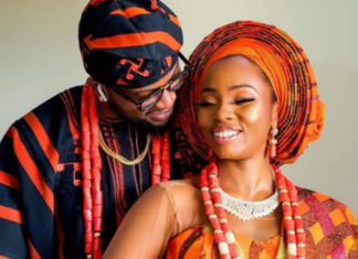 Teddy A And Bambam Release Stunning Picture Ahead Of Their Dubai Destination Wedding