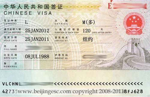Visa Requirements For China