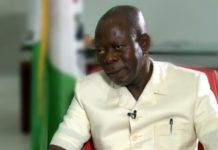 Bomb threat: Police beef up security around Oshiomhole's Benin residence