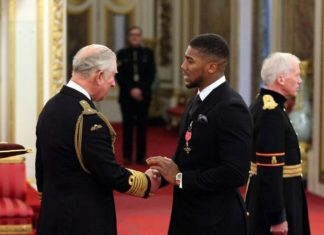 Anthony Joshua In Self Isolation After Meeting With Prince Charles Who Tested Positive For #COVID_19