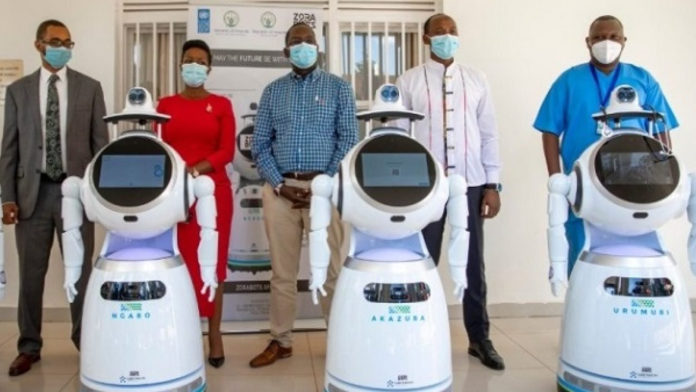 Rwanda takes delivery of robots that can screen '150 people per minute' for Coronavirus (photos)