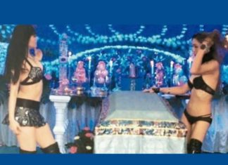 Chinese Tradition Of Hiring Strippers To Perform At Funerals