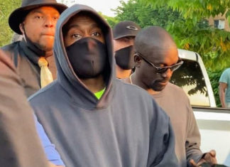Kanye West Joins Protesters In Cicago After Donating $2m To Families Of Geroge Floyd, Breonna Taylor And Ahmaud Arbery