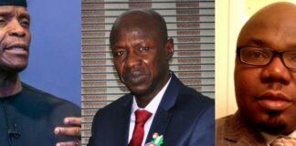 Resign And Face Me As A Man, Jackson Ude Dares VP Osinbajo