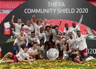 Community Shield: Arsenal Defeat Liverpool To Win English Cup