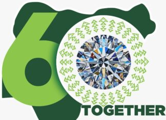 60th Independence Anniversary Logo Features Russian Dynasty Diamond