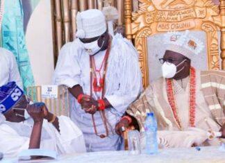 Mixed Reactions Trail Tinubu's Greeting Of Ooni At Oniru's Coronation