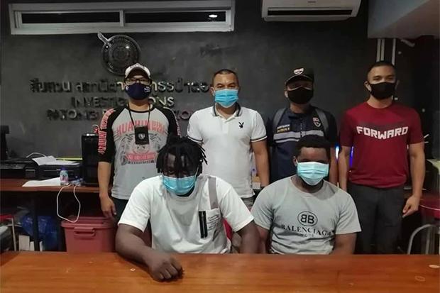 Police Arrest Two Nigerians For Alleged Romance Scam In Thailand