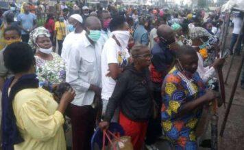Edo 2020: Voters Shun Social Distancing As Election Commences