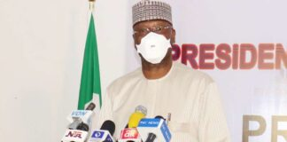 Boss Mustapha at 64: Buhari Salutes Secretary To Federation's Government