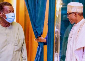 Pastor Adeboye Declines Interview After Meeting With Buhari