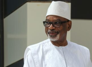 Mali Military Leader Visits Ousted President Keita In Hospital