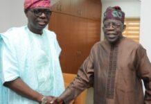 Tinubu To Sanwo-Olu: I Didn't Go Nowhere, I'm Still Jagaban
