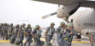 Air Force Deploys Helicopters As Looters Descend on Abuja NYSC Camp