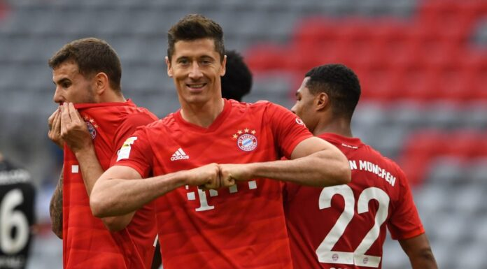 Lewandowski Hits Hat-trick For Bayern, Madrid Beats Barcelona At Camp Nou
