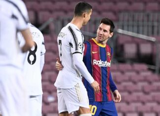 I Never Saw Messi As A Rival - Ronaldo Says After Juventus Thrashed Barcelona 3-0