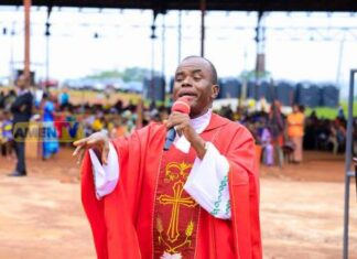 SCANDAL: Father Mbaka Allegedly Beats Up BBC Reporters, Confiscate Their Phones And Equipment