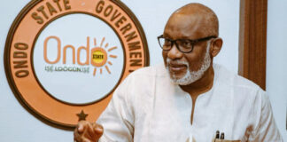 Court Dismisses Suit Challenging Akeredolu's Qualification As APC Candidate
