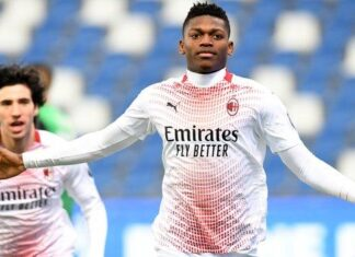 SERIE A: AC Milan's Leao Scores Fastest-Ever League Goal