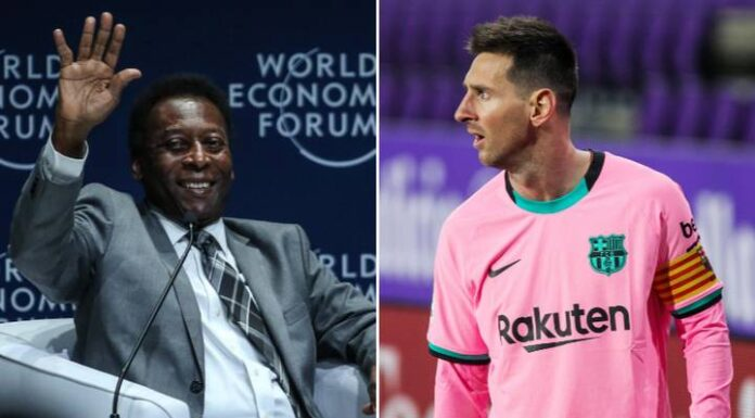 Santos: Messi Needs 448 More Goals To Break Pele's Record