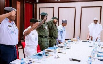 Senate To Buhari: Sack Service Chiefs Over Insecurity