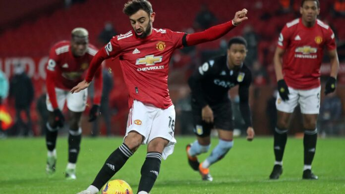 Man Utd Joins Liverpool At League Top After Villa Win