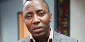 Omoyele Sowore Arrested In Abuja During Crossover Protest