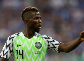 W'Cup Qualifiers: Iheanacho Brace Gives Nigeria Victory Over Liberia