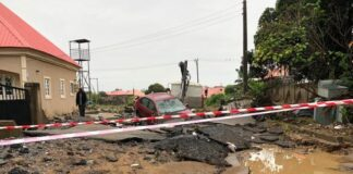 JUST IN: Three Bodies Found As Flood Ravages Abuja Estate