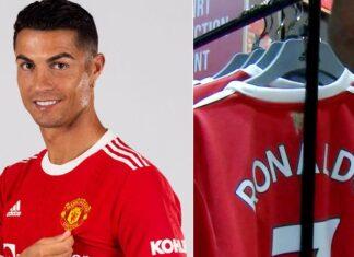 Ronaldo Meets Man United's Manger At Training Ground