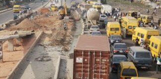 Bad Roads: NLC Protests, Blocks Lagos-Abeokuta Expressway