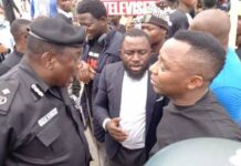 Tension As Police, Army Clash With #EndSARS Memorial Protesters In Abuja