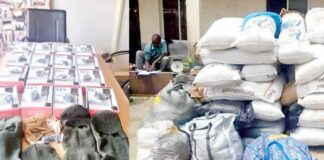 NDLEA Arrests Fake Soldier With Drugs, ATM, SIM Cards For Bandits